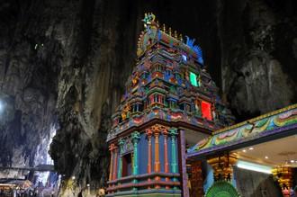 Sväté jaskyne na periférii Kuala Lumpur