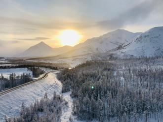 Cesta Kostí a najchladnejšie oblasti severnej pologule