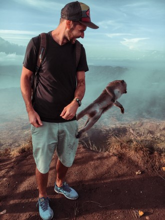 Výstup na druhú najvyššiu sopku Bali