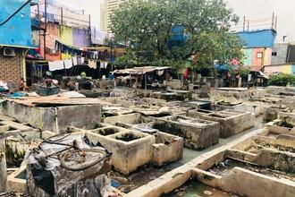 Mumbaiský Dhobi Ghat - špina versus čistota