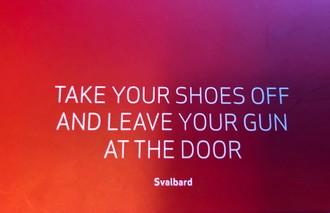 Vyzuj si topánky a odlož pušku
