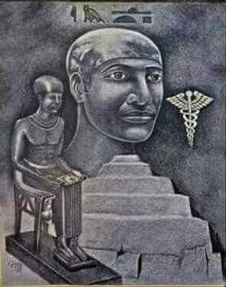 Najznámejší staviteľ pyramíd Imhotep