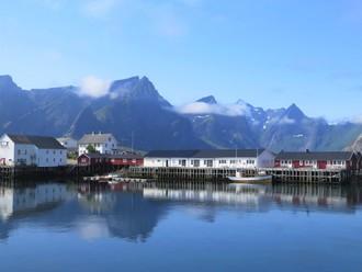 Najkrajšie ostrovy Nórska