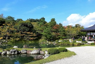 Zabudnutý budhistický chrám Tenryuji