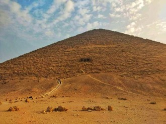 Červená pyramída v Dahšúre