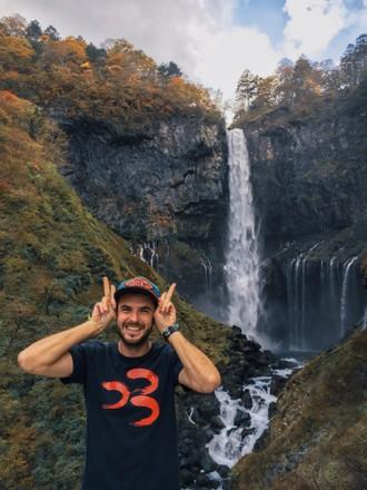 97 metrov vysoký vodopád Kegon
