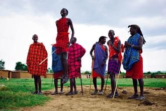 Slávny kmeň Masajov