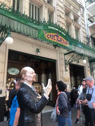 Tortoni - najstaršia kaviareň v Buenos Aires