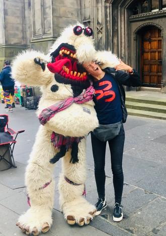 Fringujeme v Edinburghu