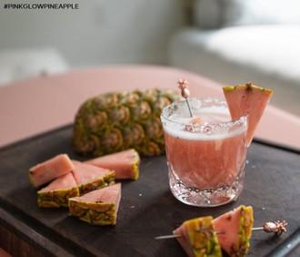 Kostarika prináša nové ovocie - ružový ananás!