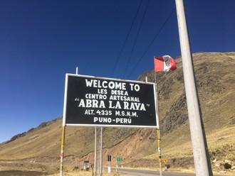Presun cez Altiplano
