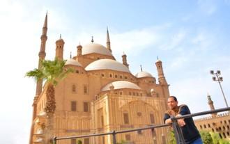 Vianočný pozdrav z Egypta