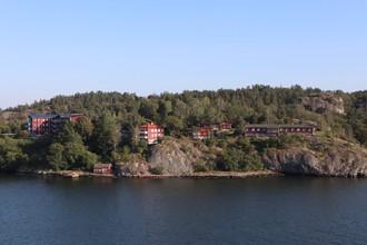 Švédske červené domčeky