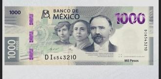 Nová mexická bankovka