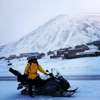 Na skútroch drsnou Arktídou