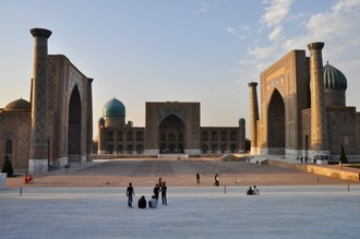 Samarkand plný zážitkov