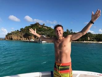 Na ostrove Richarda Bransona