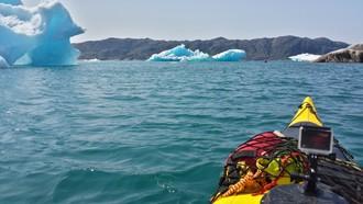 Pádlovanie medzi ľadovými obrami