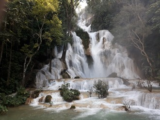 Vodopády Laosu