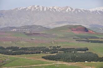 Unikátny pohľad z Golanských výšin