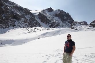 V najlepšom lyžiarskom stredisku Kazachstanu