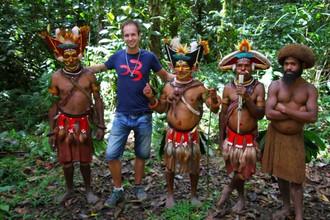 Kultúra a život ľudí Huli Wigmen v priamom prenose