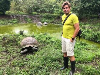 Cesta na Galapágy