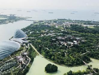 Mesto v záhradách- Singapur