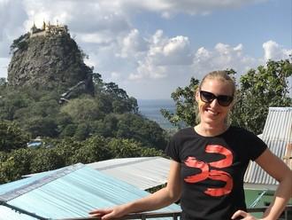 Mount Popa a duchovia Barmy
