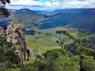 Modré hory Austrálie