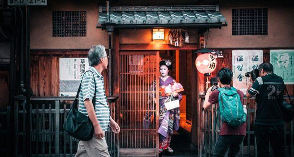 Kjóto - jeho krása zastavila aj atómové bomby