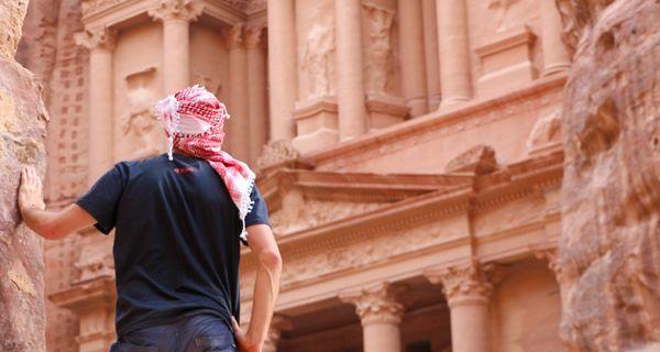 Jeden z divov sveta – Petra, mesto vytesané do skaly