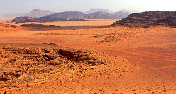 Wadi Rum. V Údolí mesiaca a Hollywoodu