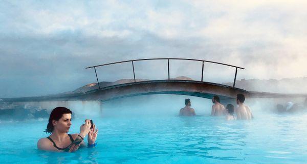 Modrá lagúna – jedinečné kúpele, vytvorené vulkánom