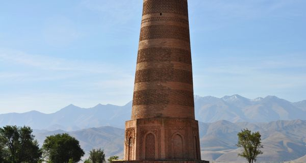 Burana - kirgizský maják Hodvábnej cesty