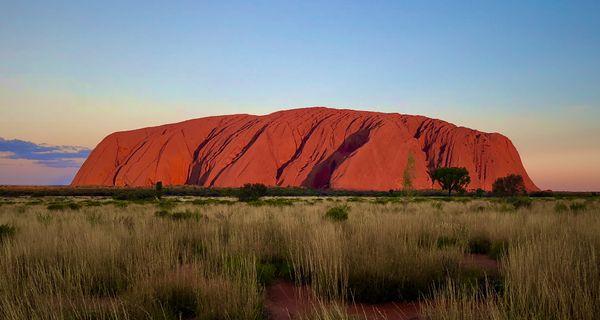 Uluru, v posvätnej zemi Aborigénov