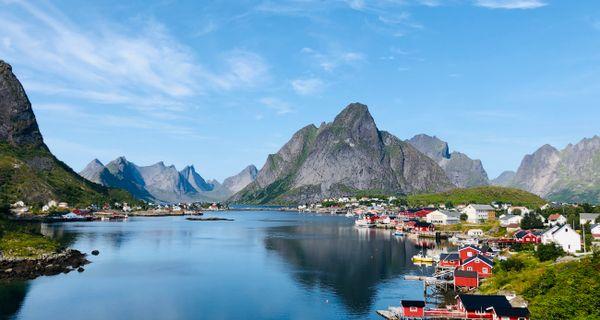 Lofoty - to najkrajšie Nórsko