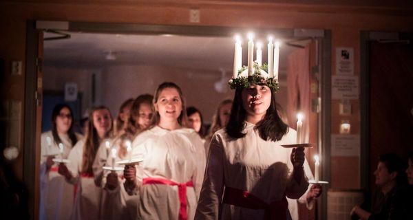 Slávime sviatok svätej Lucie