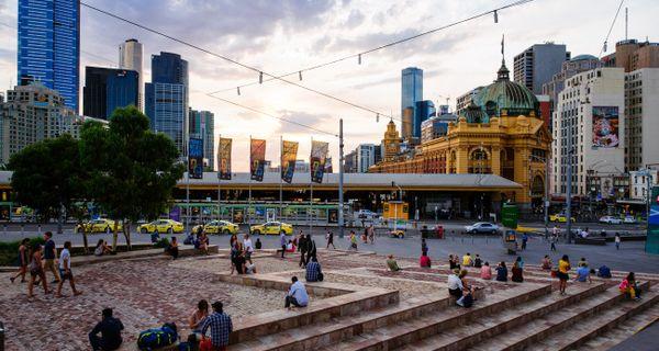 Melbourne - najkrajšie mesto Austrálie