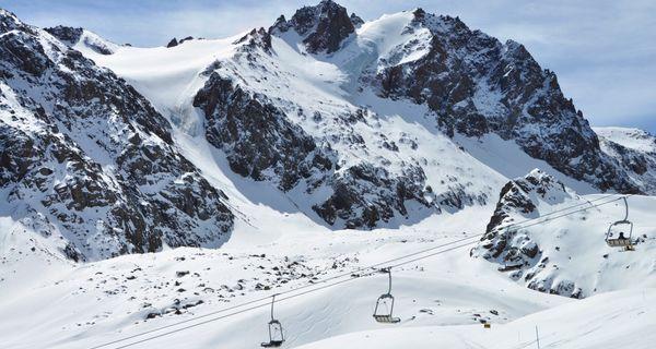 Šimbulak - v horách nad Almaty