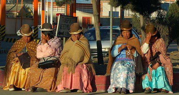 Patrónka Bolívie a pivo