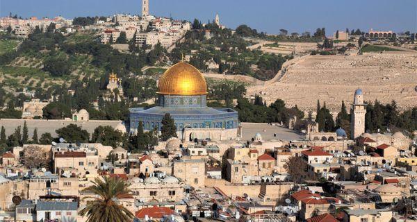 Izrael, Jordánsko, Palestína komfortne