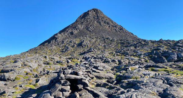 Výstup na najvyšší vrch Stredoatlantického chrbátu