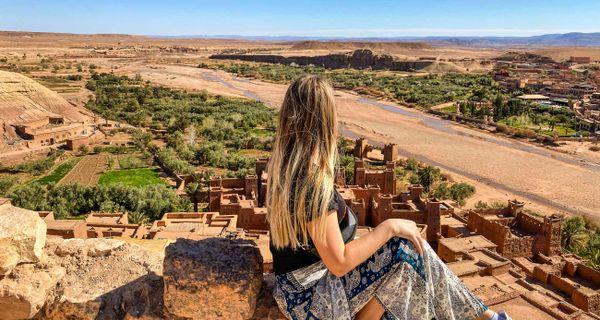 Marocký Ait Ben Haddou a filmové štúdio Atlas
