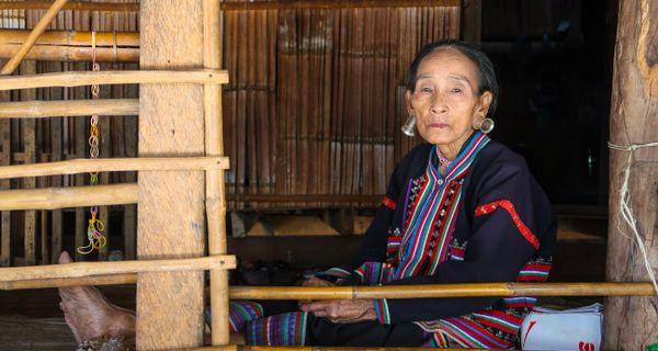 Ukryté horské kmene na severe Thajska
