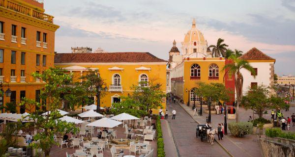 Cartagena - najkrajšie mesto Karibiku