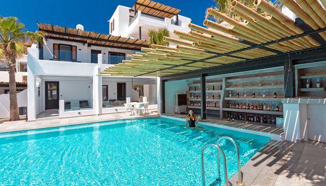 Tropicana hotel Mykonos