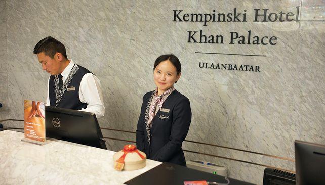 Kempinski hotel Khaan Palace