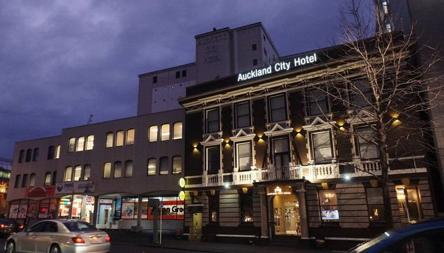 Auckland City hotel