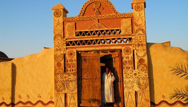 Tradičný núbijský dom